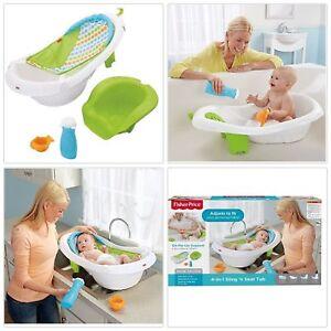 6e7fc7a942b NEW Fisher Price 4 in 1 Sling n Seat Tub Baby Bath Tub Newborn ...