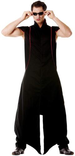 BLACK MATRIX VAMPIRE HALLOWEEN FANCY DRESS COSTUME ADULT sz 40//42