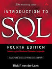 Introduction to SQL: Mastering the Relational Database Language by Rick F. van der Lans (Mixed media product, 2006)