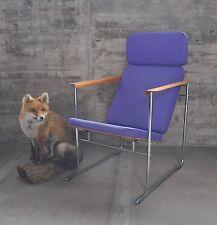 Yrjö Kukkapuro I Seltener Lounge Lobby Easy Chair I lila I Skaala 475 I NP 1700€