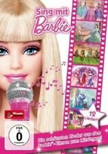 SING MIT BARBIE-DIE SCHOENSTEN LIEDER AUS DEN FILMEN ZUM MITSINGEN-DVD NEUWARE