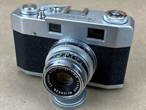 Skymaster-Vintage-35mm-Pax-Like-Camera-w-45mm-F-2-8-Luminor-Lens-Clean