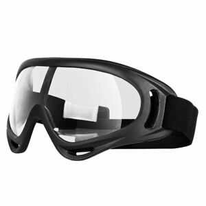 Fully Sealed Shield Goggles UV Eye Protection Lab Work Safety Glasses Sunglasses