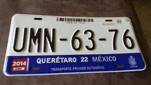 USA Nummernschild Mexico Quertaro