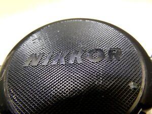 Nikon-Lens-Cap-034-Nikkor-034-52mm-JAPAN-all-black-Free-Shipping-worldwide