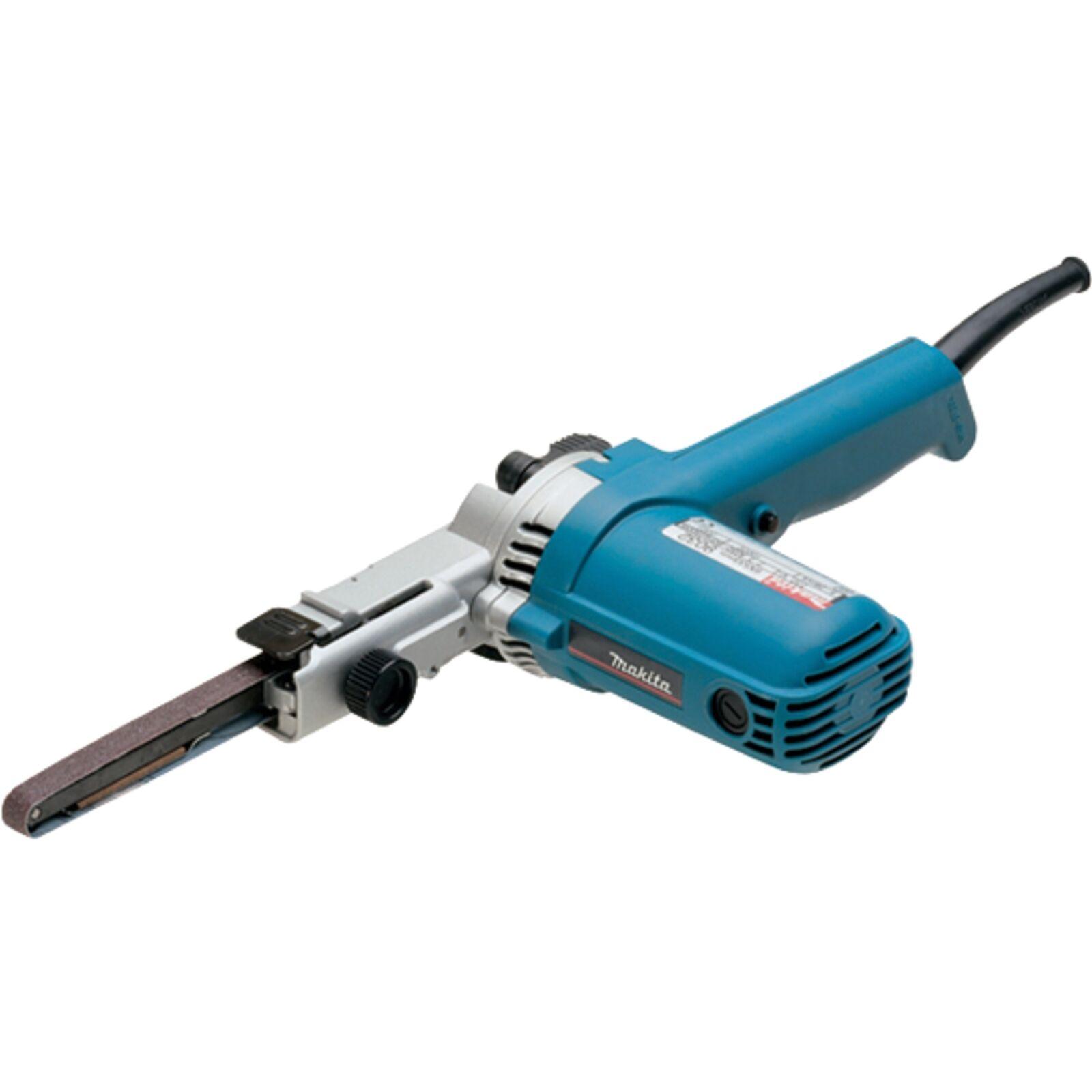 Makita Bandfeile 9032, Elektrofeile, blau