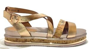 ALVIERO-MARTINI-1-CLASSE-Junior-Geo-scarpe-sandali-donna-tessuto-pelle-sneakers