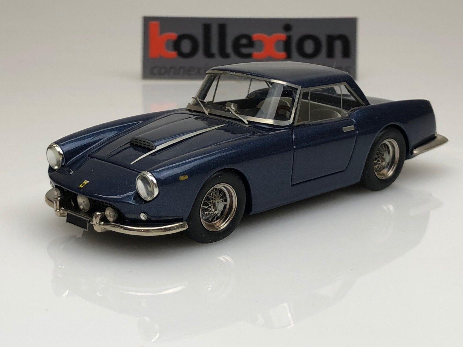 TRON FERRARI 400 SA SWB Hard Top blu 1960 1.43