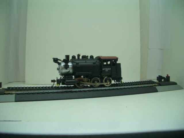 HO MANTUA  SANTA FE  SADDLE  TANK  0-6-0 T  #393001  REFURBISHED