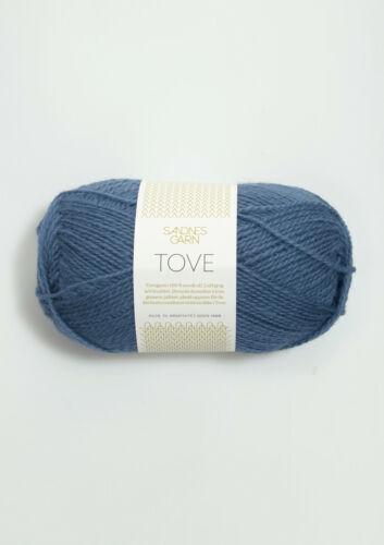 Sandnes Tove 50g un delgado hilo para tejer y ganchillos todos los colores