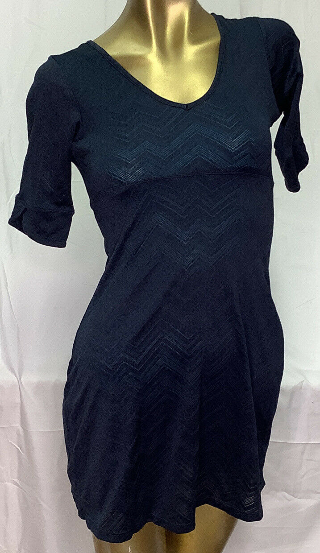 Mountain Hardwear Half Sleeve Dress Size XS Dark Blue Activewear Lined