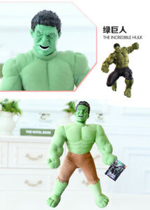 45CM-MARVEL-INCREDIBLE-HULK-ACTION-FIGURES-DOLL-KIDS-BABY-PLUSH-SOFT-STUFFED-TOY
