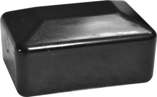Rechteckig Pfostendeckel Pfostenkappen Kappen aus Kunststoff Zaunbau 80x60mm