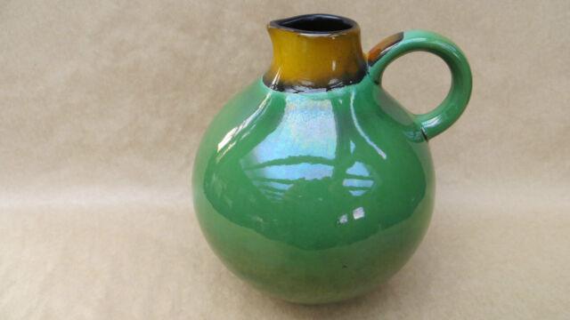 Vase Krug grün Wächtersbach Nr. 0208 Stempel Bienenkorb