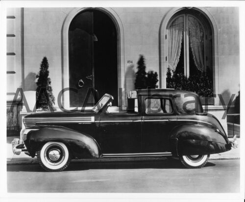1939 Graham Series 116 Supercharged Town Car, Factory Photo (Ref. #45077)
