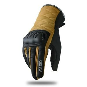 MOTORCYCLE-GLOVE-GENUINE-LEATHER-KNUCKLE-REINFORCEMENT-STYLISH-SPECIAL-OFFER