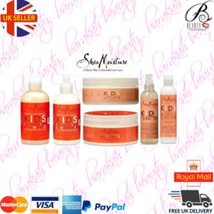 Shea-Moisture-Coconut-amp-Hibiscus-Kids-FULL-RANGE-Shampoo-Conditioner-Smoothie
