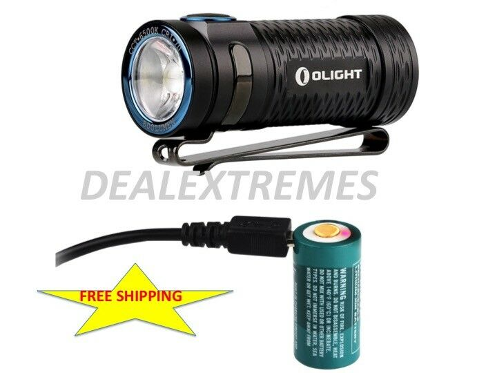 Olight S1 mini Baton 600lm Rechargeable  LED Flashlight with rechargeable battery  all in high quality and low price