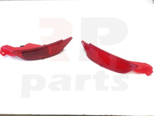 NEW FORD C MAX 2011-2018 REAR BUMPER RED REFLECTOR LIGHT PAIR LEFT /& RIGHT
