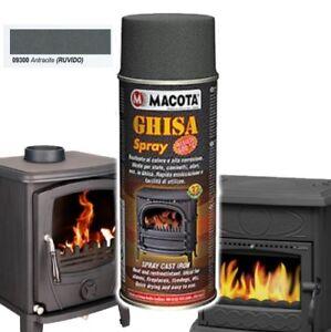 MACOTA-Bomboletta-Vernice-Spray-Resistente-Alle-Alte-Temperatura-Ghisa-Antracite