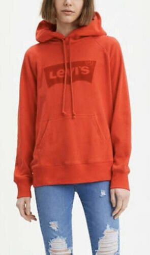 Levi/'s Women/'s Classic Pullover Hoodie With Graphic Logo In Red