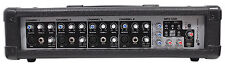Rockville Rpm45 2400w Powered 4 Channel Mixer USB 3 Band EQ Effects Phantom