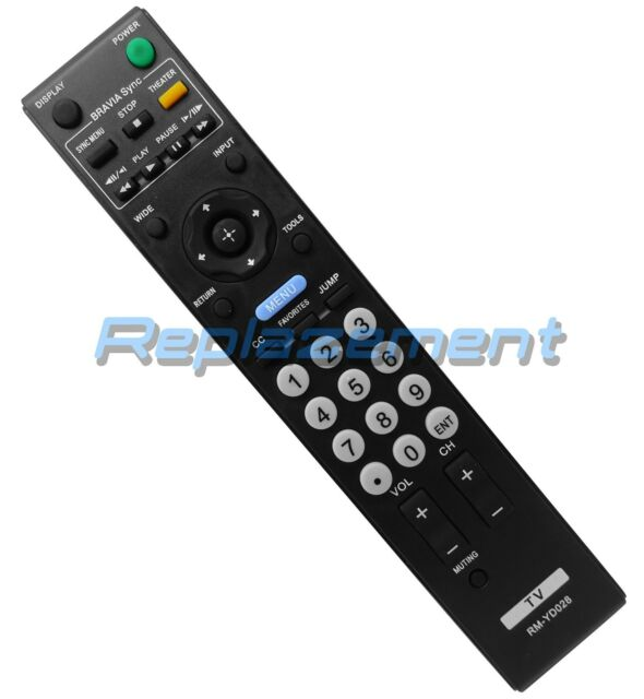 New Replace RM-YD026 For SONY TV Remote Control 32M4000//91 KDL26M4000 KDL26N4000