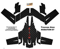 Carbon Fiber Traxxas Aton Plus Body Wrap Decal Skin Sticker Canopy Ultradecal on sale