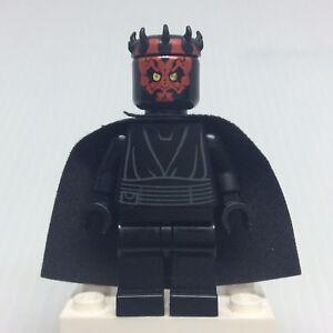 LEGO-Star-Wars-Episode-1-Darth-Maul-sw323-Minifigure-w-Cape-from-7961