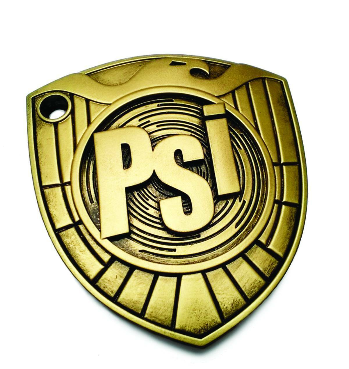 Judge Dredd PSI Division Badge 1 1 Prop Planet Replicas