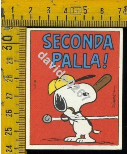 LINUS 1971 Figurina Nuova  n° 081