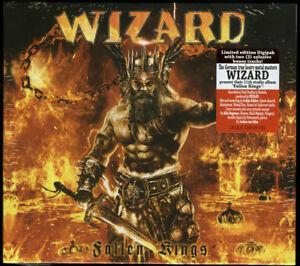 WIZARD-Fallen-Kings-CD-Digipak-2017-2-Bonus-Tracks-True-Teutonic-Metal-NEW