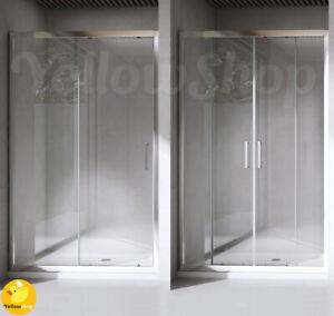 Box Doccia Scorrevole Nicchia Cristallo 6 Mm 100 110 120 130 140 150 160 170 Ebay