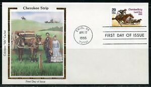UNITED-STATES-COLORANO-1993-CHEROKEE-STRIP-FIRST-DAY-COVER
