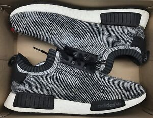 new concept 75c0a a4b86 Image is loading Adidas-NMD-Runner-PK-Oreo-Glitch-Camo-Black-