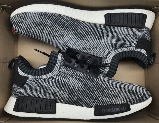 Details about Adidas NMD R1 PK Glitch Grey Oreo black white S79478 new