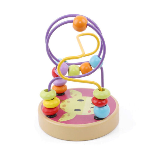 Baby Toys Toddler Educational Lovely Animals Round Beads Kids Toys For Newborn G