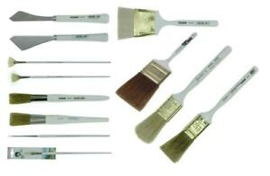 Bob Ross Deluxe Landscape Brush and Painting Knife Set, 12 Piece, BRAND NEW 730656170016