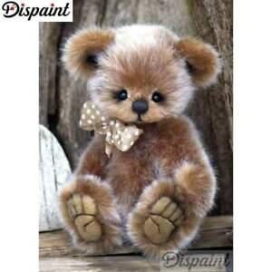 Diamond Dotz Mr Handsome Teddy Bear 5D Diamond Painting Embroidery Facet Kit