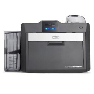 HID-Fargo-HDP6600-Duo-Kartendrucker-Plastikkartendrucker-600-dpi-NEU