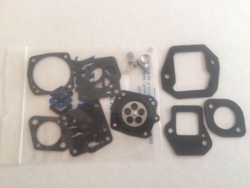 Carb and Reed Gaskets Plus Adapter Poulan 4200 5200 8500 Tillotson Repair Kit
