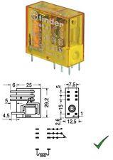 Relè Relay 230V 230Vca 16A 1 Scambio Contatto Miniatura 230Vac 220V FINDER 4061
