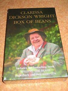 CLARISSA-DICKSON-WRIGHT-Box-Of-Beans-CD-AUDIOBOOK