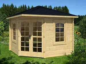 DIY Timber Cabin Studio Shed Home Office Pool House The