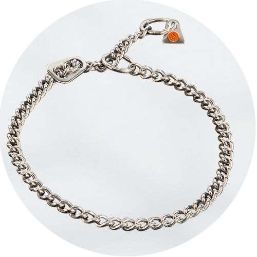 Herm Sprenger Stainless Steel Limited Traction Slip Collar 2.5mm Dog Chain