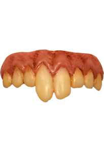 Trick Or Treat It Pennywise Denti Adulto Halloween Accessorio Costume CGWB101