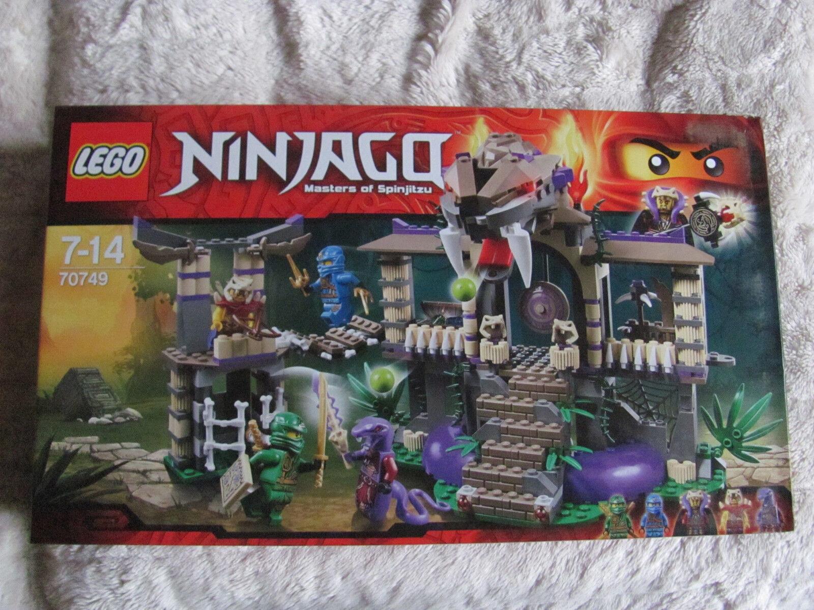 Lego Ninjago 70749 templo de la anacondrai nuevo con embalaje original