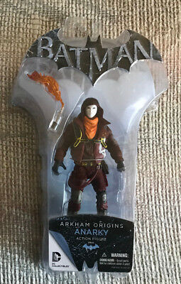 BATMAN ARKHAM ORIGINS ANARKY ACTION FIGURE MIP NEW UNOPENED
