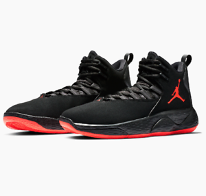 789a9ef6a925 Nike Jordan Super Fly MVP Mens Basketball Shoes - Black Infrared ...