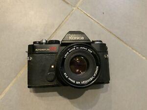 Appareil A Photo Konica Et Objectif